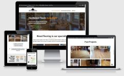 Website design for flooring company
