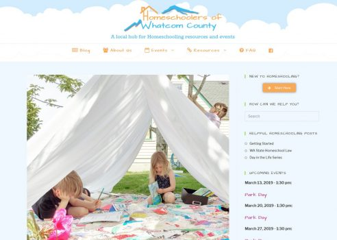 This homeschool organization grew bigger than they could handle. I helped them reduce overhead time and effort by creating different resource pages to answer repetitive questions and needs of its members.